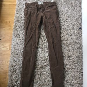 CURRENT/ELLIOTT The Skinny Jean in brown size 26
